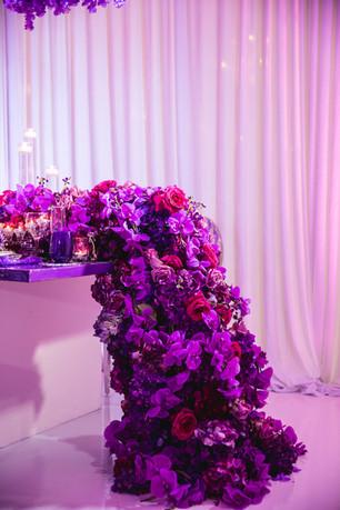 fr ftk purple tunnel styled shoot weddin