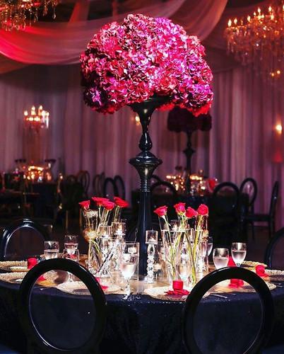 elegant valentine's day dinner with an e