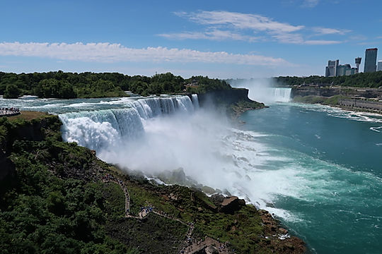 Niagara vandfaldene. USA siden. www.drivingusa.dk