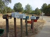 Amerikanske postkasser