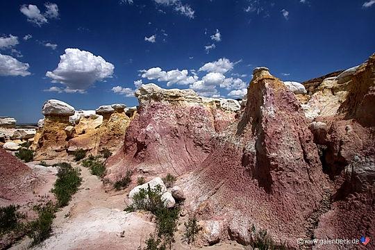 Calhan Paint MInes Colorado. Roadtrip ruter ognationalparkeri USA