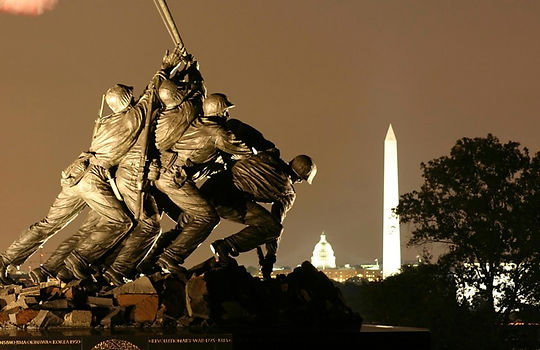 Statuer i Washington. Roadtrip ruter og nationalparker i USA