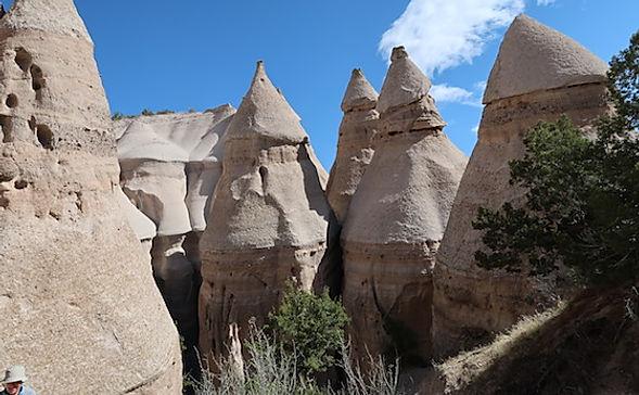 Tent Rocks, er en af New Mexicos naturperler. www.drivingusa.dk