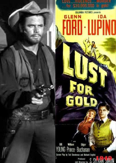Filmen Lust for Gold er optaget i Arizona
