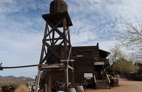 Westernby Goldfield Ghost Town