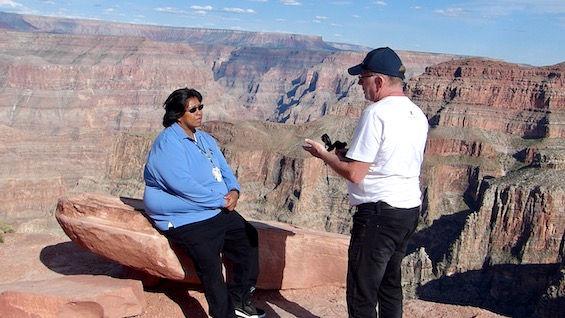 Michael Bo Christensen interview med Hualapai indianer.jpeg