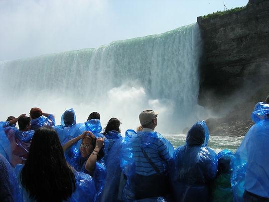 Tæt på Niagara Fall's, Roadtrip ruter og nationalparker i USA