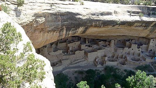 Mesa Verde. Indianerhuse. www.drivinusa.dk