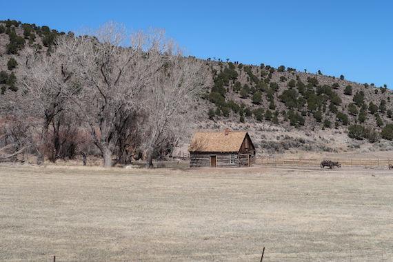 Butch Cassidys barndoms hjem, ved Hwy. 89, Utah