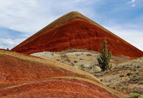 Painted Hills, John Day Fossil Beds National Monument, Roadtrip ruter og nationalparker i USA