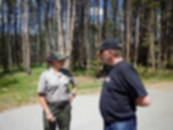 Park Rangers og paramediciner, drivingusa,dk, roadtrip