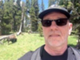 Mr. drivingusa.dk i Yellowstone, drivingusa,dk, roadtrip