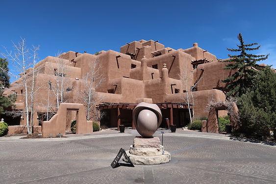 Pueblostyle huse i Santa Fe