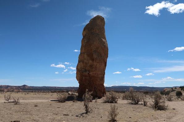 52 meter høje Chimney Rock.