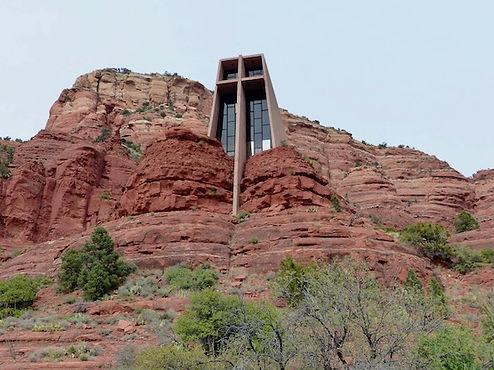 The Chapel of the Holy Cross i udkanten af Sedona.