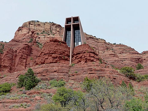 The Chapel of the Holy Cross i udkanten af Sedona.