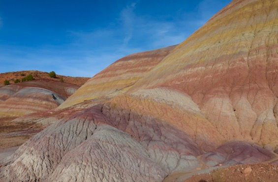 Rainbow Mountains, USA