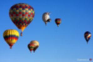 Tag børnene med til ballontræf iAlbuquerque, New Mexico.