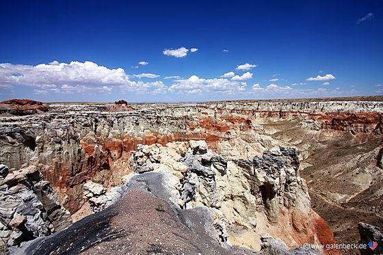 Coalmine Canyon, en geologisk nydelse