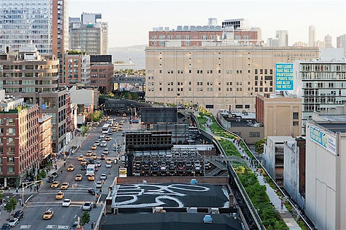 High Line New York, drivingusa,dk, roadtrip
