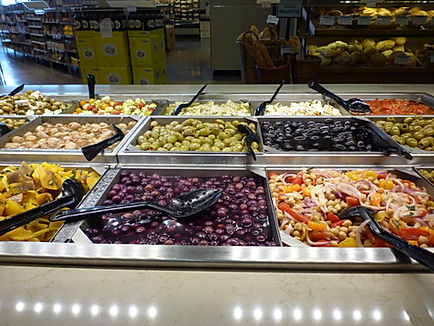 Overflod af mad i amerikanske supermarkeder