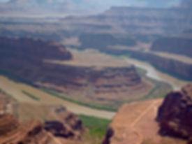 DE 5 store nationalparker i Utah. Dead Horse State park. Drivingusa.dk