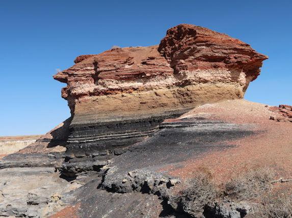 Amerikaguiden Michael Bo Christensen i Coalmine Canyon, Navajo Reservatet