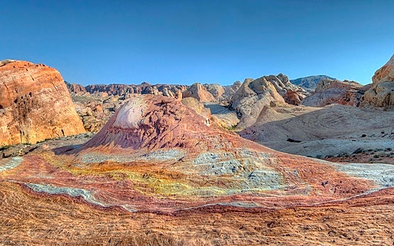 palette hill. valley of fire.john fowler