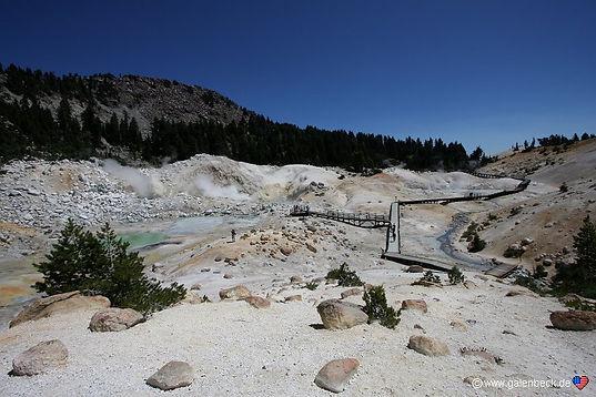 Bumpass Hell, i Lassen Volcanic nationalpark