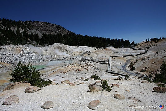 Bumpass Hell, i Lassen Volcanic nationalpark