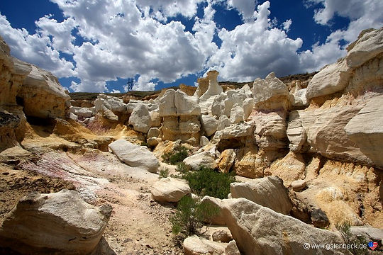 Paint Mines Interpresive Park Colorado. Roadtrips og nationalparker i usa