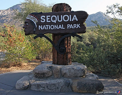 Sequoia National Parkkaldes også for den hemmelige park.