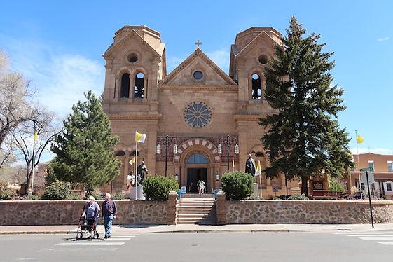 St. Francis Cathedralen. Byens vartegn.
