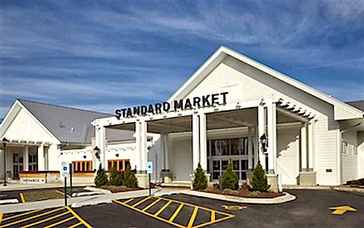 Besøg et supermarked i USA