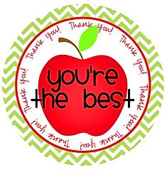 Et æble til læreren. Appreciative Week