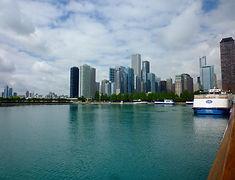 Skyline Navy Pier, Chicago,Roadtrip ruter og nationalparker i USA