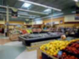 Masser af varer i supermarked i USA