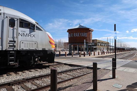 Santa Fe er knudepunkt for togdrift, ofte med over 100 vogne.