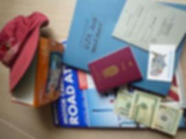 Husk Visa, Esta og Pas til USA rejsen