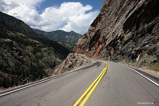 Million Dollar Highway, tæt på Gunnison
