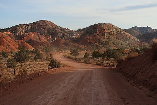 House Rock Road i Utah