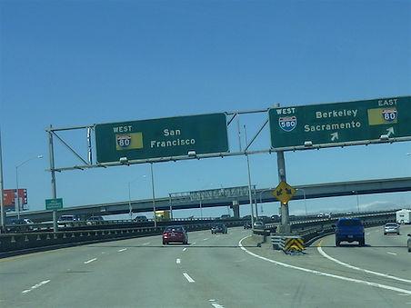 Interstate til San Francisco, drivingusa,dk, roadtrip