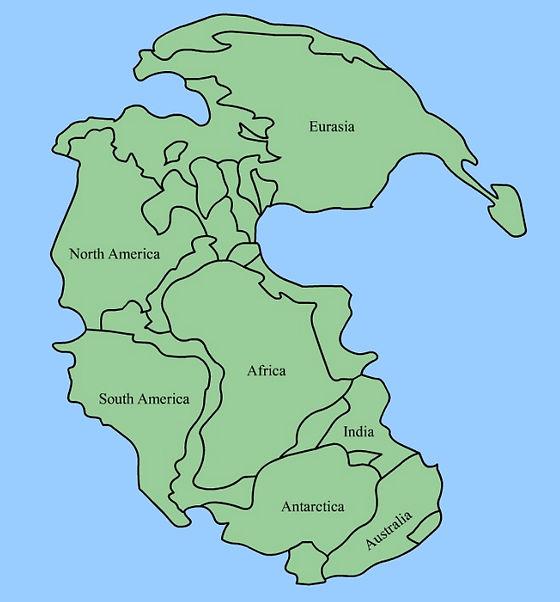 Superkontinentet Pangea