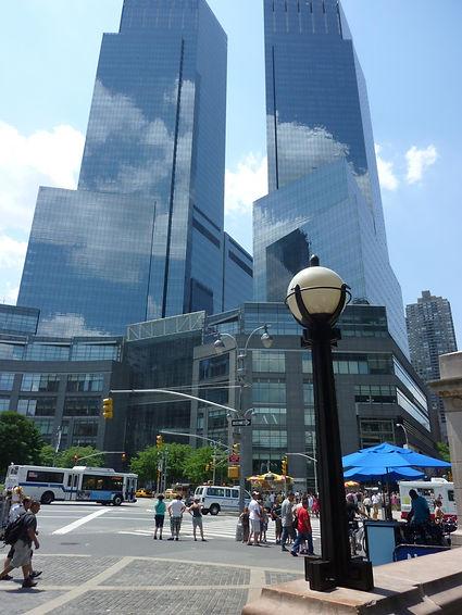 Time Warner Center i New York, Roadtrip ruter og nationalparker i USA
