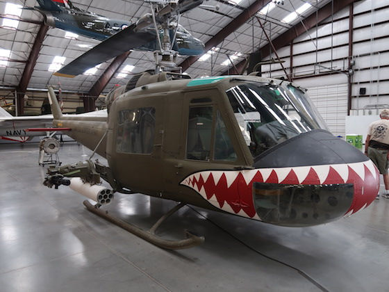 Helikopter fra Vietnamkrigen, Tucson museum