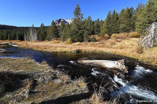 Lassen Vulcanis National Park i Californien