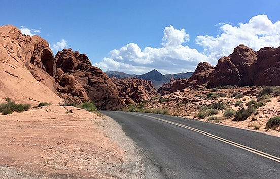 Fire Wave i Valley of Fire. Roadtrip og nationalparker i usa