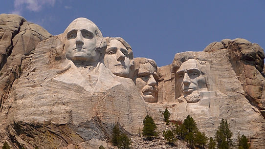 Mount Rushmore, Roadtrip ruter og nationalparker i USA
