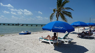 Key West strand. Drivingusa.dk - Roadtrip i USA