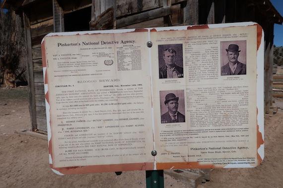 Pinkerton Detective Agency jagtede Butch Cassidy.